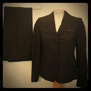 Ann Taylor pants suit set office blazer jacket